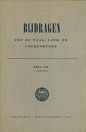 Bijdragen Tot De Taal-, Land- En Volkenkunde, Deel 116, 1e Aflevering: G. W. Locher; D. ...