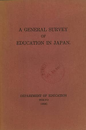 A General Survey of Education in Japan