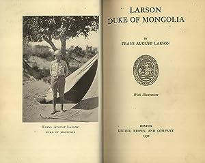 Larson Duke Of Mongolia: Larson, Frans August