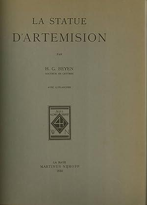 La Statue d'Artemision: Beyen, H. G.