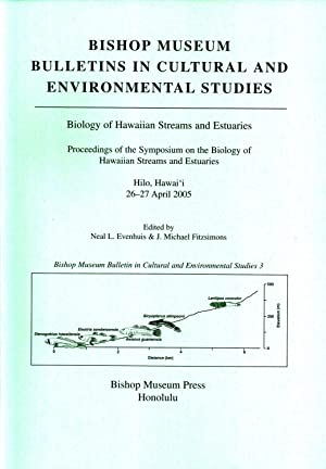 Biology of Hawaiian Streams and Estuaries: Proceedings of the Symposium on the Biology of Hawaiian ...