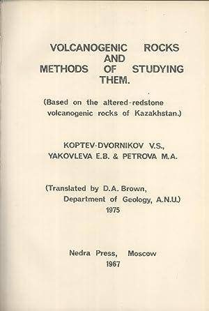 Volcanogenic Rocks and Methods of Studying Them;: V. S. Koptev-Dvornikov;