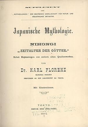 """Japanische Mythologie. Nihongi """"Zeitalter der Gotter"""" Nebst Erganzungen aus Andern Alten ..."""