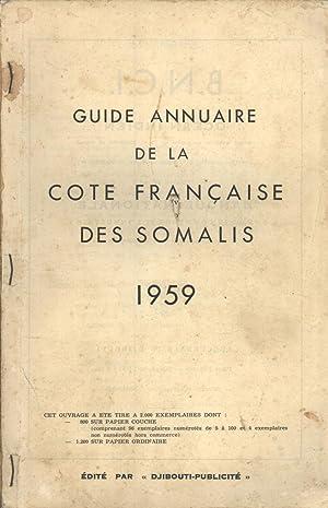 Guide Annuaire de la Côte Française des Somalis 1959