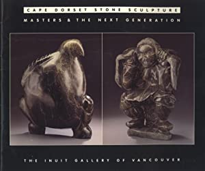 Cape Dorset Stone Sculpture: Masters and the: Joseph Murphy (introduction)