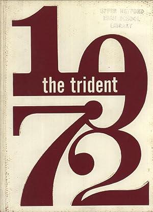 Yearbook: 1972 Upper Heyford American High School Trident Yearbook, Upper Heyford England