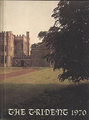 Yearbook: 1969 Upper Heyford American High School Trident Yearbook, Upper Heyford England