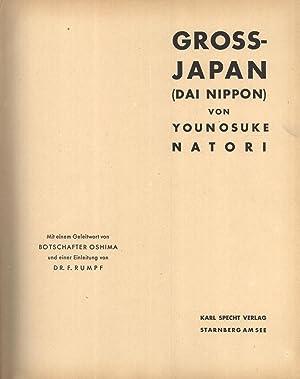 Gross-Japan (Dai Nippon): Younosuke Natori (author, photographer); F. Rumpf (introduction); ...