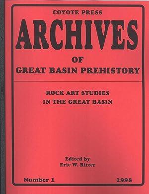 Rock Art Studies in the Great Basin: Eric W. Ritter