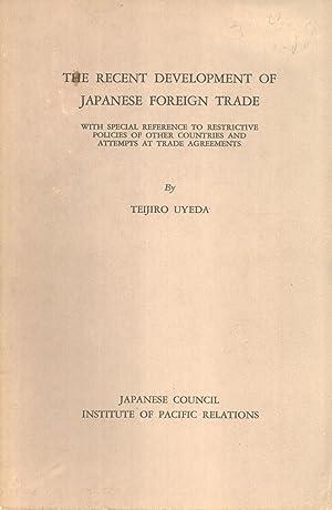 Recent Developments in Sino-Japanese Relations: Hotsumi Ozaki