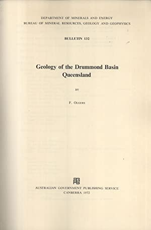 Geology of the Drummond Basin, Queensland (Bulletin 132): Olgers, F.