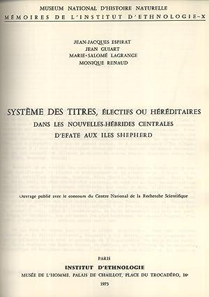 Système des Titres, Électifs ou Héréditaires, dans les Nouvelles-H&...
