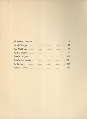 Los Paraisos: Augusto Germain (author); Benjamín Jarnés (editor); Juan Renau (illustrator)