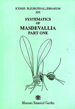 Systematics of Masdevallia, Part 1: M. subgenus: Carlyle A. Luer