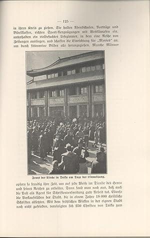 Kongregationale Missionsarbeit in China: Friedrich W. Schwager