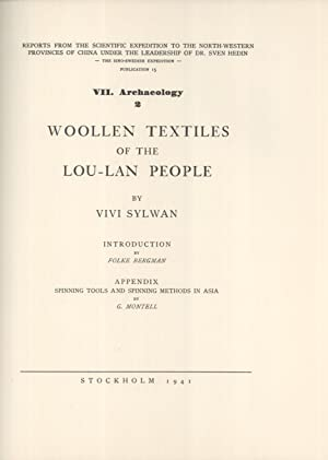 Woolen Textiles of the Lou-Lan People (Reports from the Scientific Expedition to the North-Western ...