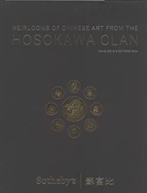 Heirlooms of Chinese Art From the Hosokawa Clan, Hong Kong 8 October 2014