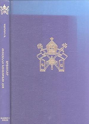 Kronakan, astuatsabanakan yev hayagitakan: Hayeren shark' [Religion, Theology and Armenian ...