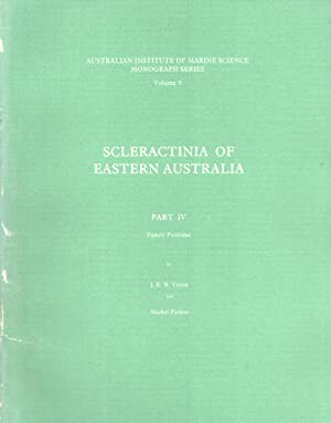 Scleractinia of Eastern Australia. Part 4: Family Poritidae (AIMS Monograph Series, 5): Veron, J. E...