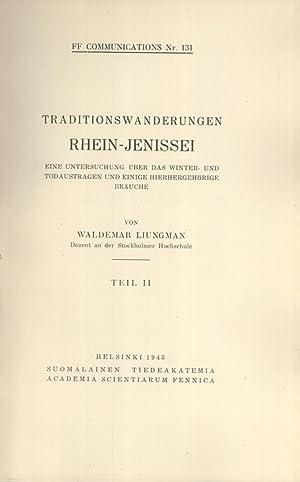 Traditionswanderungen Rhein-Jenissei : eine Untersuchung über das Winter- und Todaustragen und...