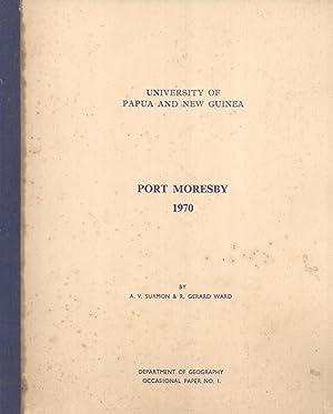 Port Moresby 1970 (Occasional Paper, 1): A. V. Surmon & Gerard Ward