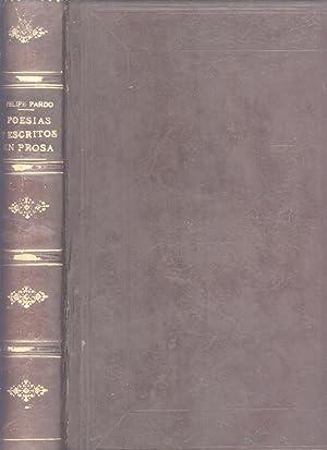 Poesias y Escritos en Prosa: Felipe Pardo