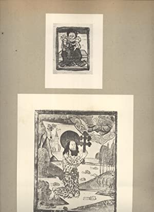 Relief prints in New York city, in the Metropolitan museum of art, the New York public library, and...