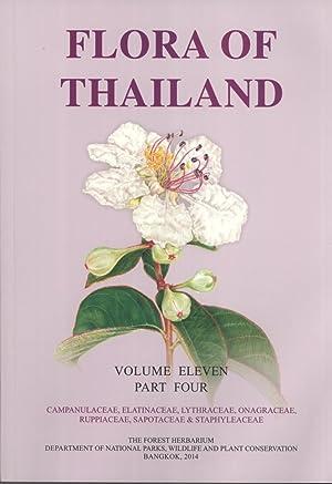 Flora of Thailand, Volume 11, Part 4: Campanulaceae, Elatinaceae, Lythraceae, Onagraceae, ...