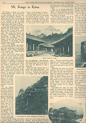 Present-Day Japan: Special English Supplement of the Osaka Asahi and the Tokyo Asahi 1930