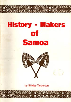 History-Makers of Samoa: Shirley Tarburton