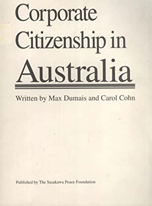 Corporate Citizenship in Australia: Max Dumais & Carol Cohn
