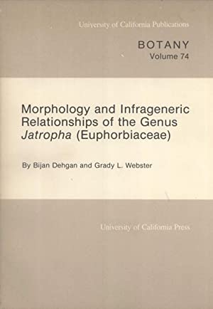 Morphology and Infrageneric Relationships of the Genus Jatropha (Euphorbiaceae) (University of ...