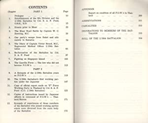 A History of the 2/29 Battalion - 8th Australian Division AIF: Its Formative Years, Malaya and...