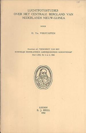 Luchtfotostudies Over het Centrale Bergland van Nederlands Nieuw-Guinea (Tijdschrift van het ...