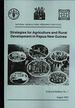 Strategies for Agriculture and Rural Development in: Alan R. Quartermain;
