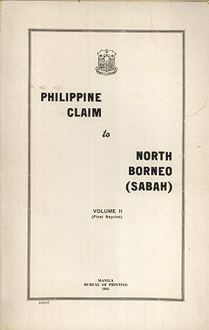 Philippine Claim to North Borneo (Sabah). Volume: Narciso Ramos