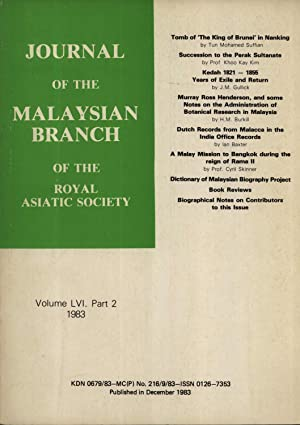 Journal of the Malaysian Branch of the: Tun Mohamed Suffian;