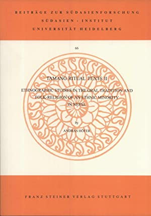 Tamang Ritual Texts: II. Ethnographic Studies in: András Höfer