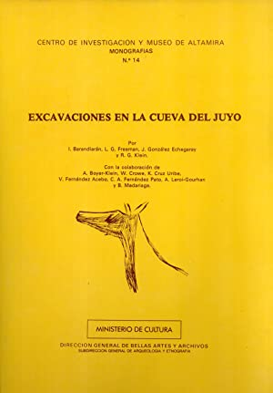 Excavaciones en la cueva del Juyo: I. Barandiarán, L. G. Freeman, J. González Echegaray, R. G. ...