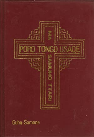 Poro Tongo Usaqe, Ma Samuho Ttari: The New Testament and Psalms in Guhu-Samane