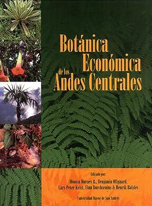 Botánica Económica De Los Andes Centrales: Morales R., Mónica; Øllgaard, Bejamin; ...