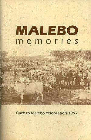 Malebo Memories: Back to Malebo Celebration 1997: Phil Sheather; Patricia Galloway