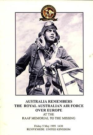 Australia Remembers the Royal Australian Air Force: McKernan, Michael