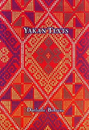 Yakan Texts: Behrens, Dietlinde