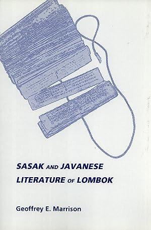 Sasak and Javanese Literature of Lombok: Marrison, Geoffrey