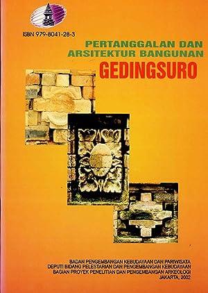 Pertanggalan Dan Arsitektur Bangunan Gedingsuro: Bambang Budi Utomo