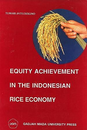 Equity Achievement in the Indonesian Rice Economy: Jatileksono, Tumari