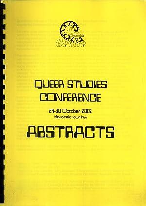 Queer Studies Conference, 29-30 October 2002, Newcastle: Liz Ashburn; Nancy