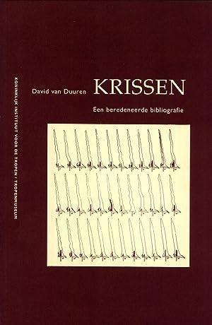 Krissen: Een Beredeneerde Bibliografie: van Duuren, David