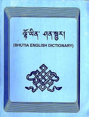 Bhutia English Dictionary: Pintso Bhutia